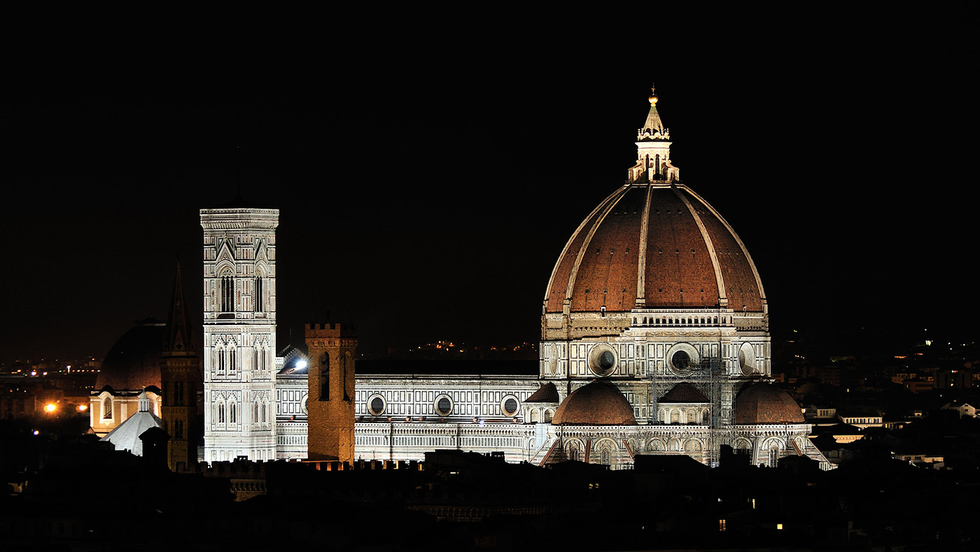Florence cathedral iguzzini for Domon florence