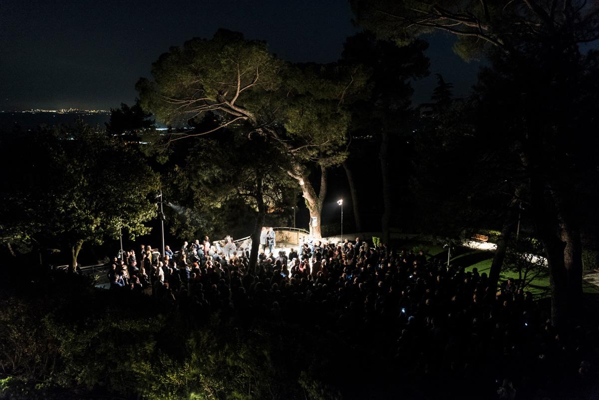 Inaugurato il nuovo progetto di illuminazione intelligentedel Colle dell'Infinito a Recanati