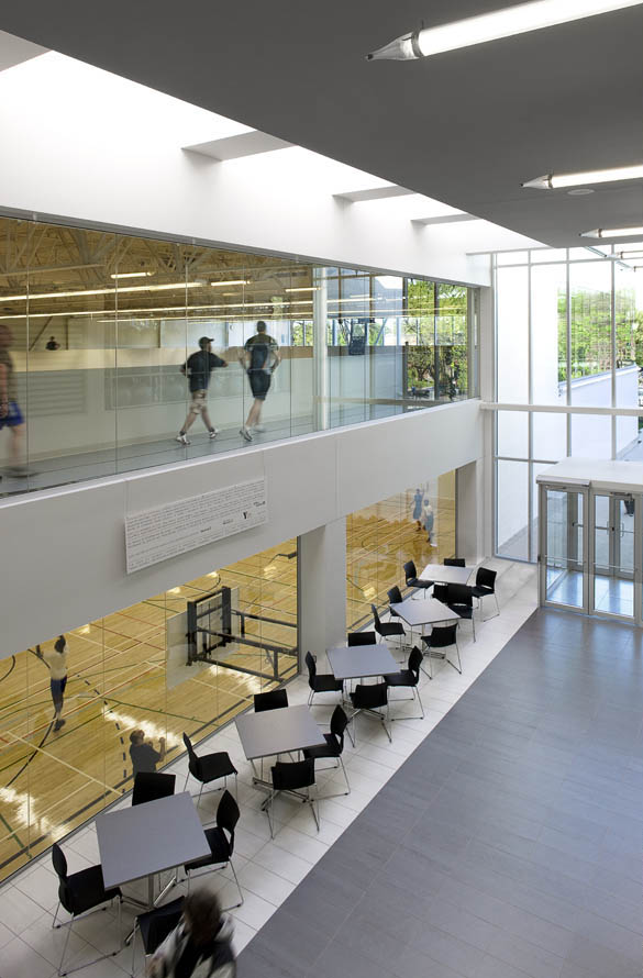 The YMCA sports complex