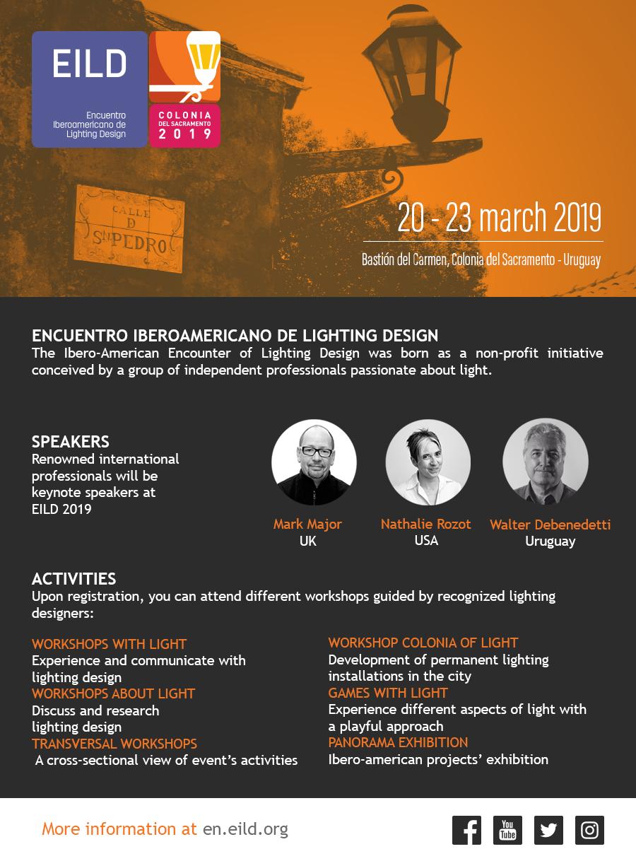 EILD, Incontro Ibero-americano di Lighting Design