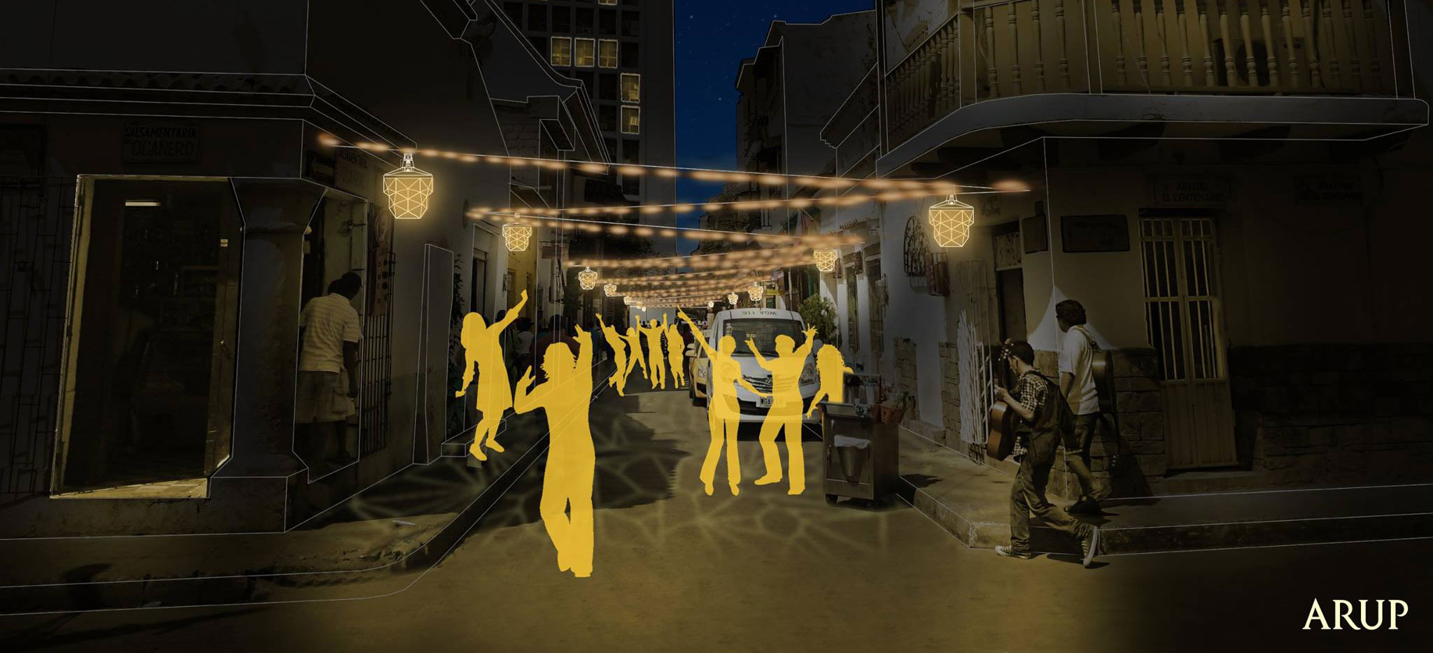 Getsemani residents contribute to the design of modern led lanterns that exhalt the identity of their neighborhood.