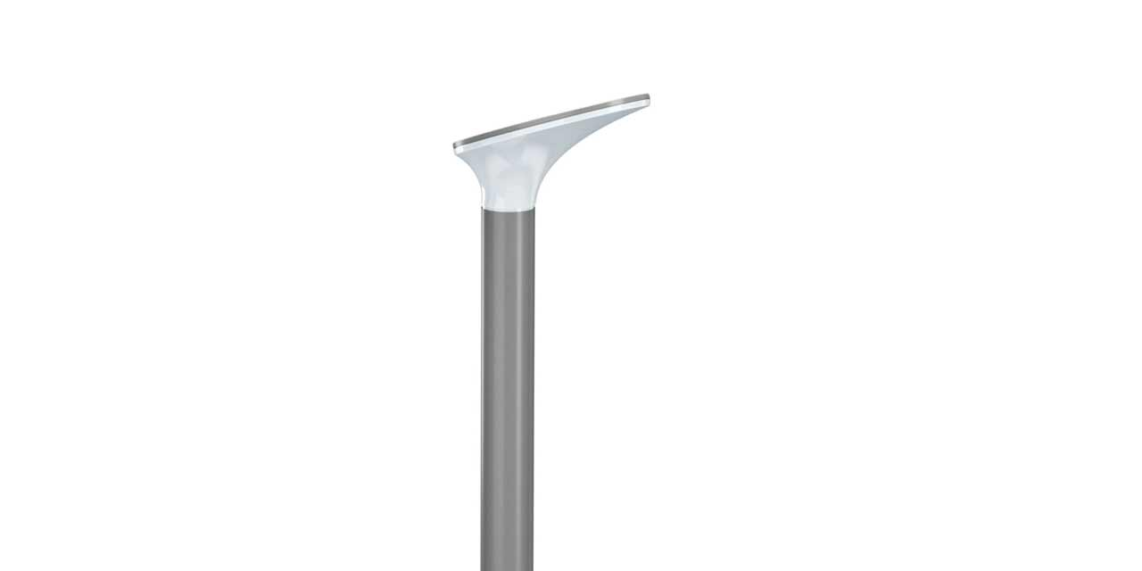 Outer Oblique - bollard for residential areas