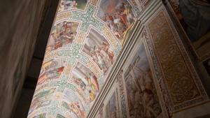 El complejo del Sancta Sanctorum. Iluminar lugares sagrados.