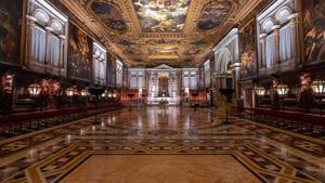 Lighting revives Tintoretto's art