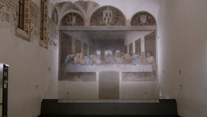 A new LED lighting system for Leonardo's The Last Supper
