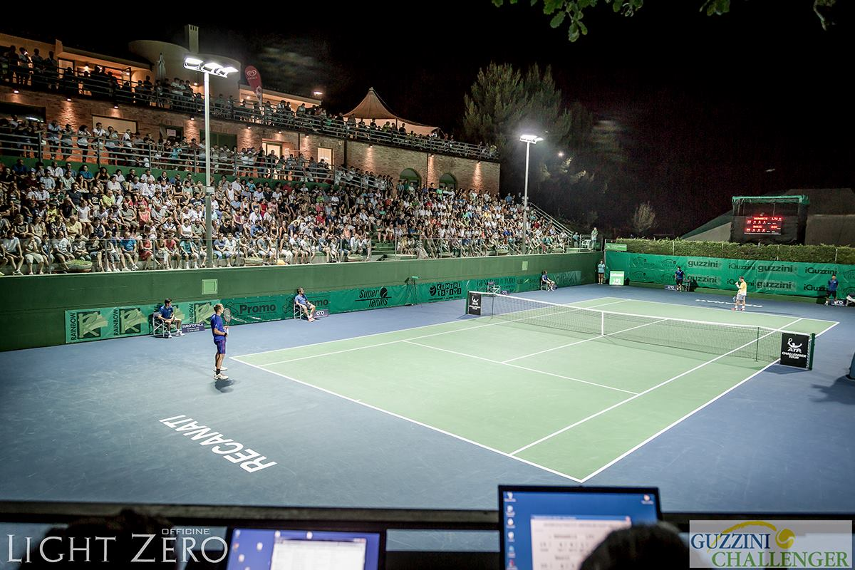 ATP Guzzini Challenger - International Tennis Tournament on hard court