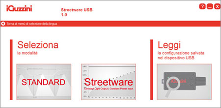 Streetware USB software
