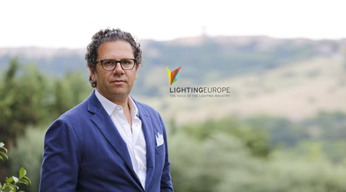 Massimiliano Guzzini re-elected to Lighting Europe's Executive Board
