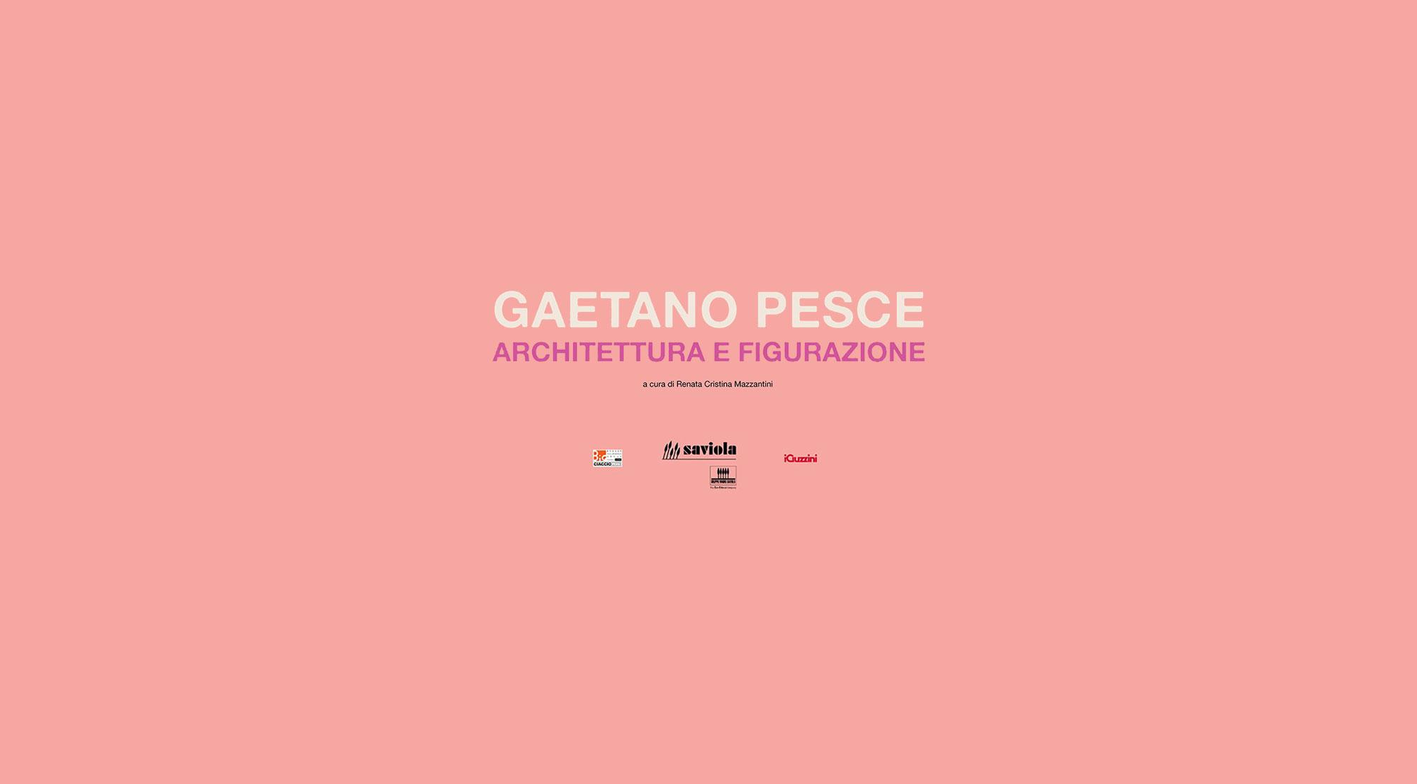 Gaetano Pesce Architettura e Figurazione