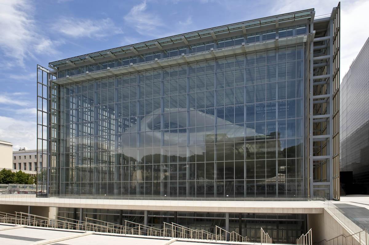 Massimiliano Fuksas's new convention centre in Rome