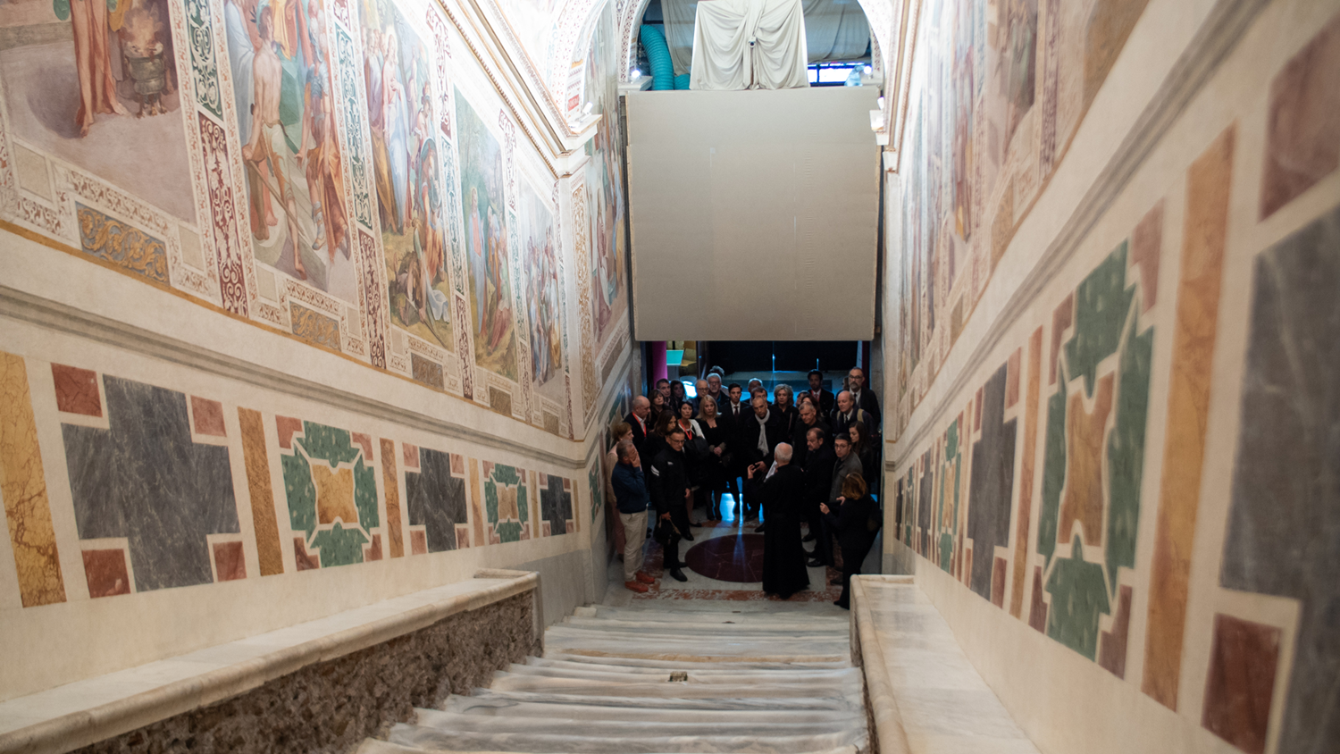 iGuzzini enhances the Pontifical Sanctuary of the Holy Stairs  with new lighting