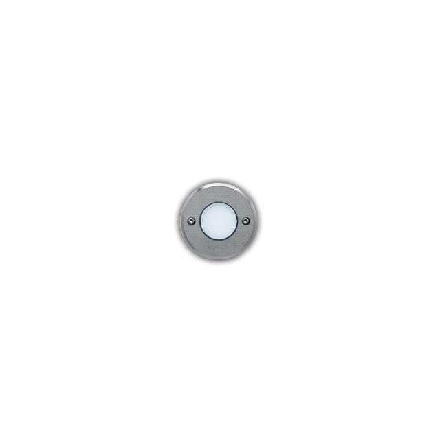 Ledplus - collerette inoxydable avec vis ronde