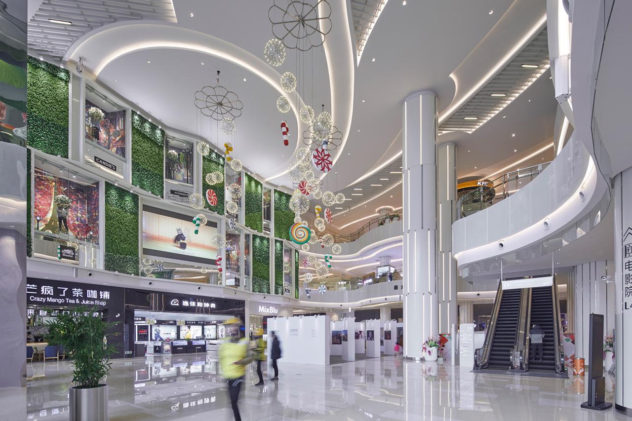 Illuminazione per negozi, illuminazione commerciale, illuminazione per supermercati