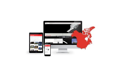 A new look for iGuzzini North America's website