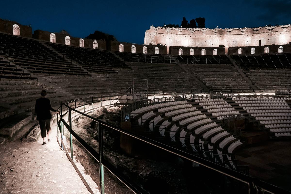iGuzzini illumina il Teatro Antico di Taormina con Metaenergia