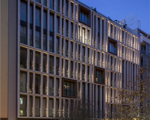 Una fachada dinámica para el hotel Ohla Eixample