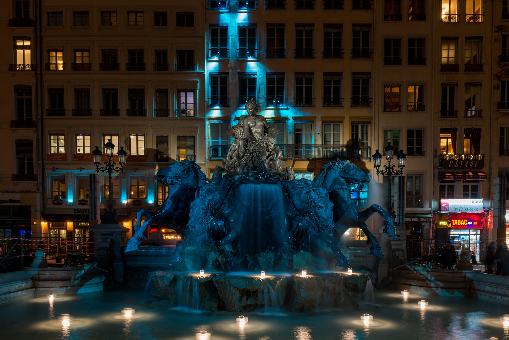 iGuzzini en la Fiesta de las Luces de Lyon