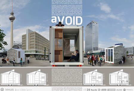 aVOID, the first tiny house Made in Italy