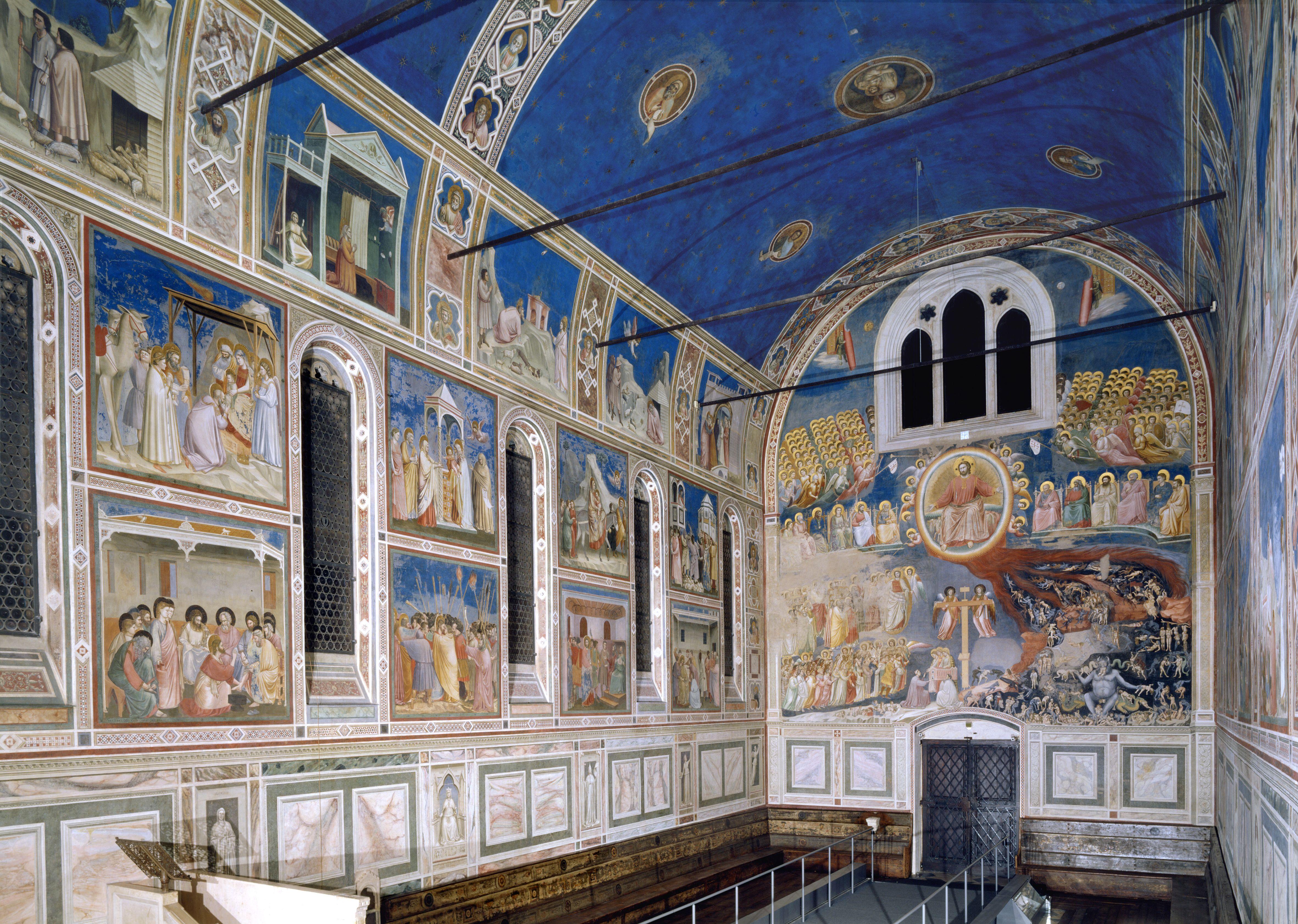 La Cappella degli Scrovegni - Padova