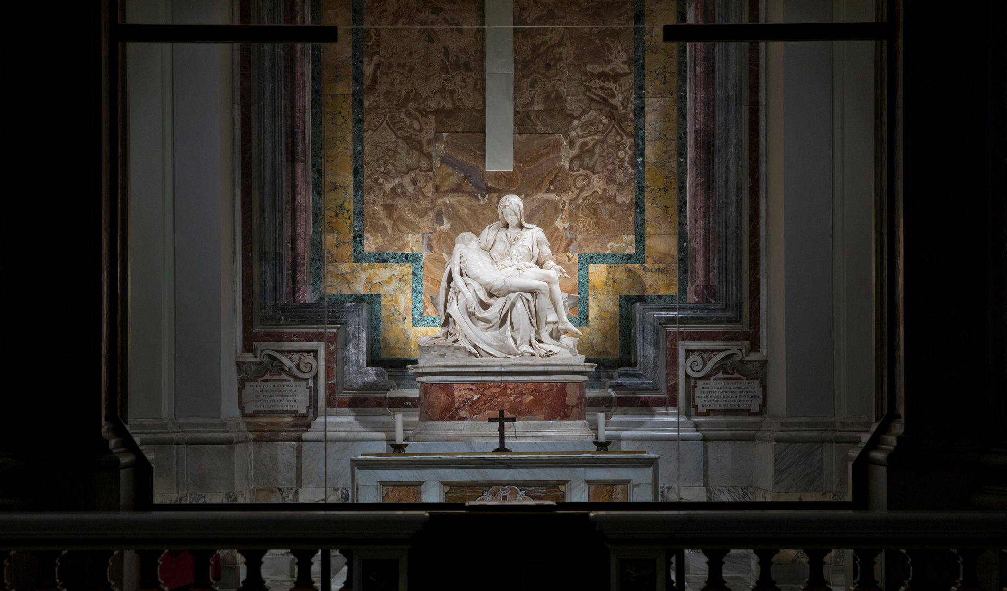 the Pietà in St. Peter's Basilica