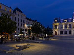 Le centre-ville de Poitiers
