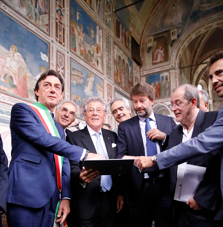 iGuzzini aporta nueva luz a las obras maestras de Giotto