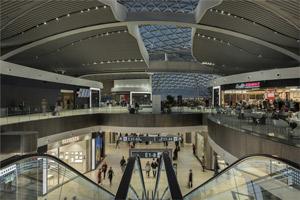 Il nuovo terminal E - aeroporto Leonardo da Vinci
