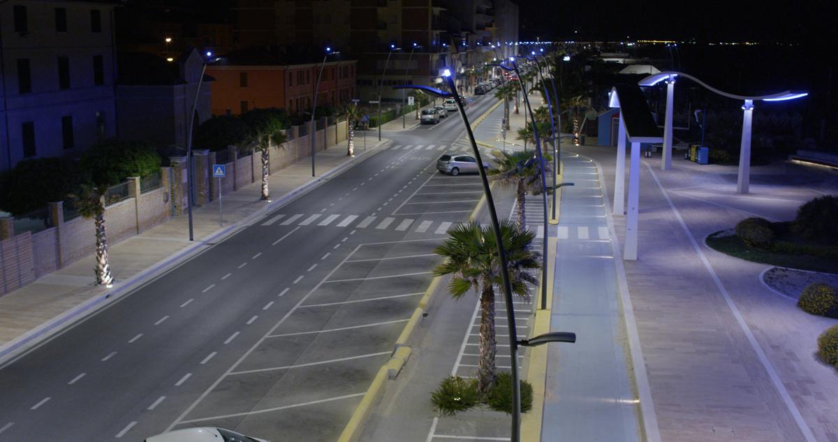 Illuminazione urbana