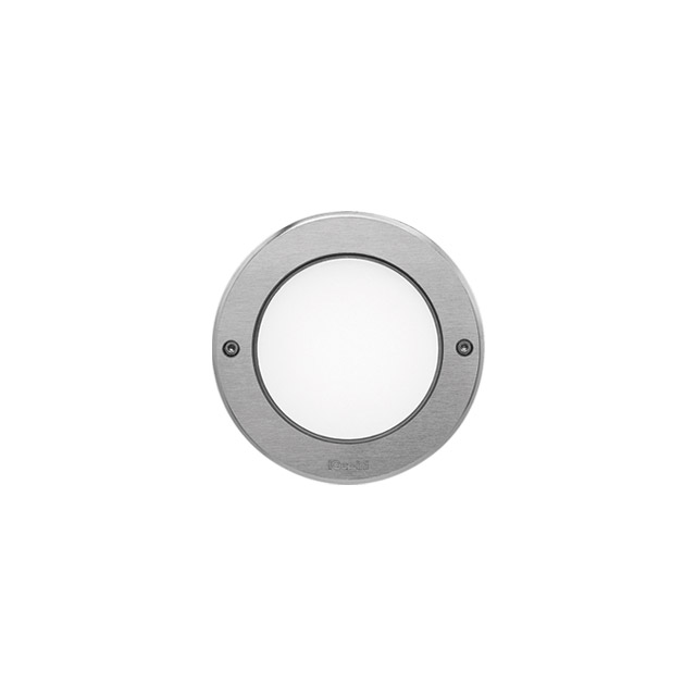 marco de acero inoxidable con tornillos circular