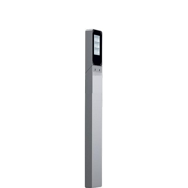 poste iluminación vertical