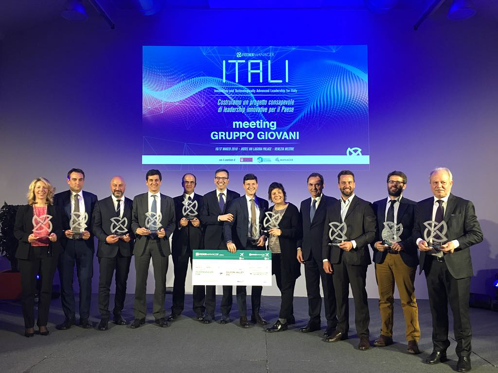 The best Italian young manager is iGuzzini's CFO