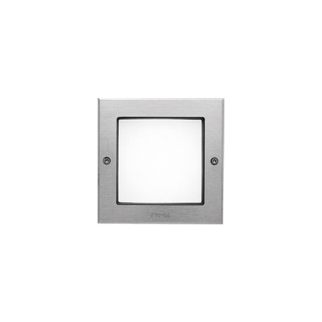 Ledplus - marco de acero inoxidable con tornillos cuadrada