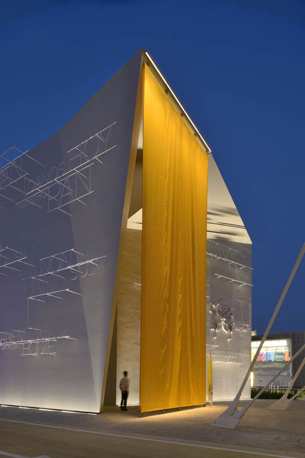 Holy See Pavilion<br>Expo Milano 2015