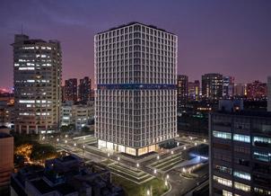 """El complejo de oficinas """"OnCube"""""""