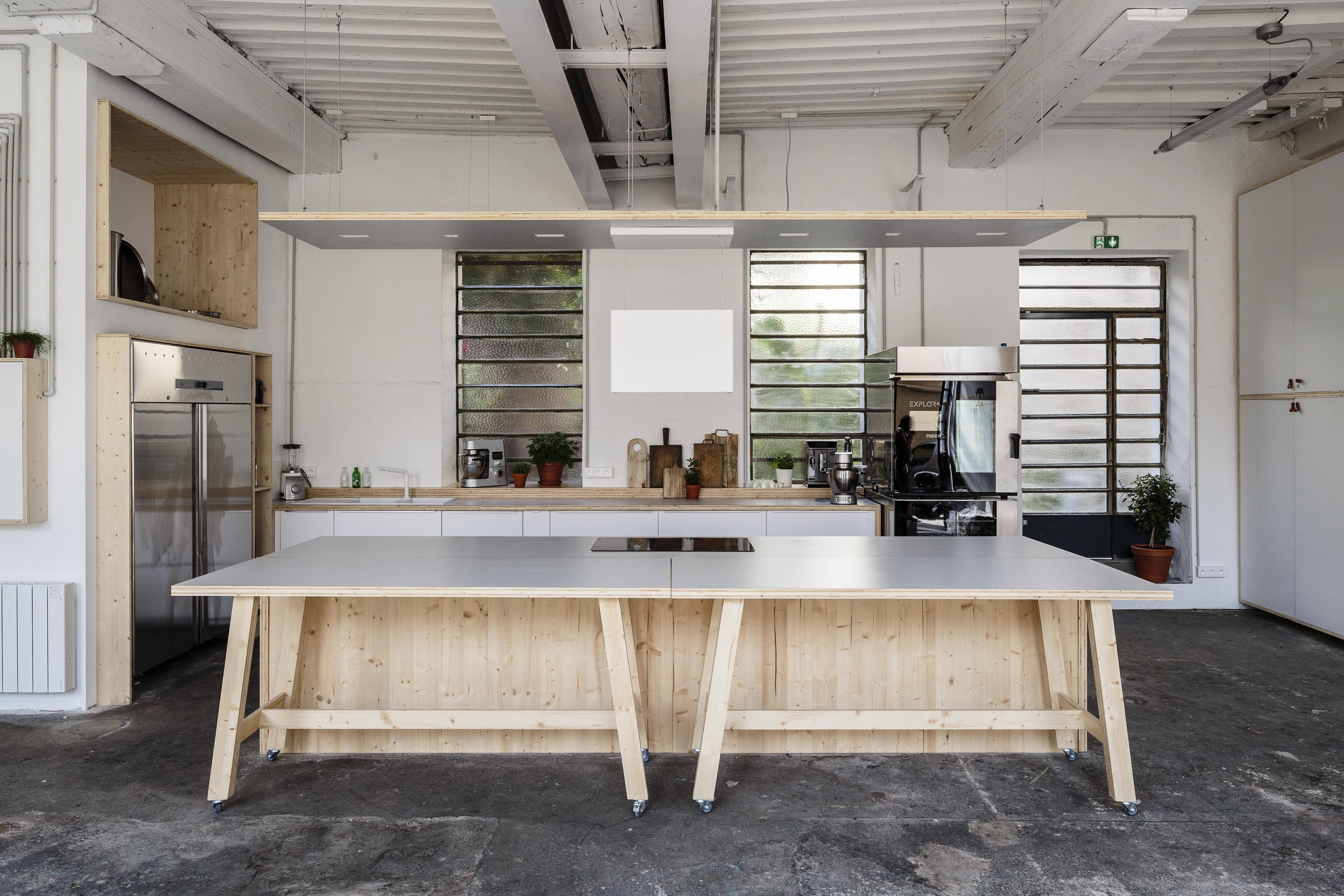 iGuzzini éclaire l'Atelier Food Factory, à Lyon