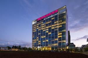The Aloft Hotel it's a new hallmark