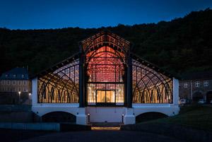 Die Gießhalle Sayner Hütte: eine Kathedrale aus Eisen