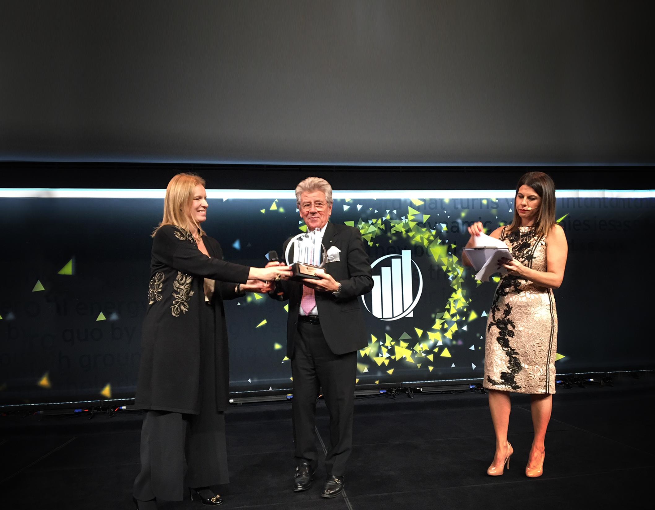"""Premio EY Imprenditore dell'Anno 2017 per la categoria """"Globalization"""""""