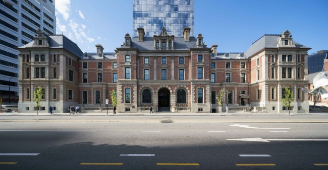 The State Buildings - Winner of highest honour, the George Temple Poole Award