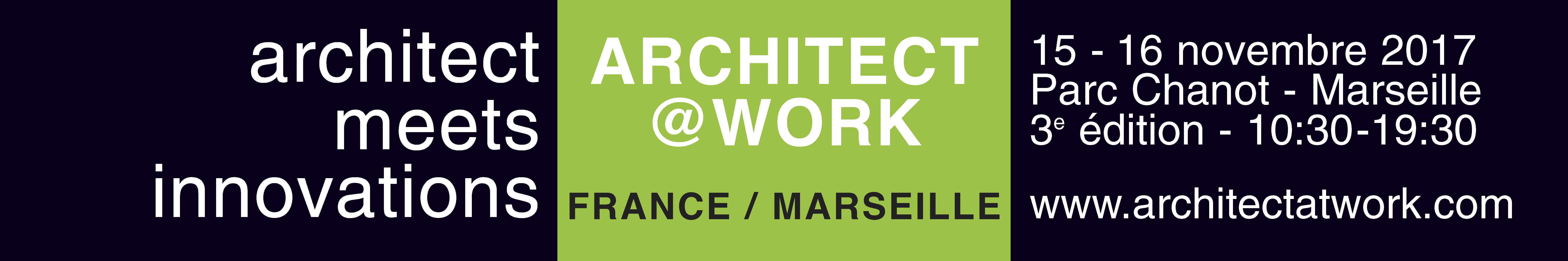 Architect@Work Marseille 2017