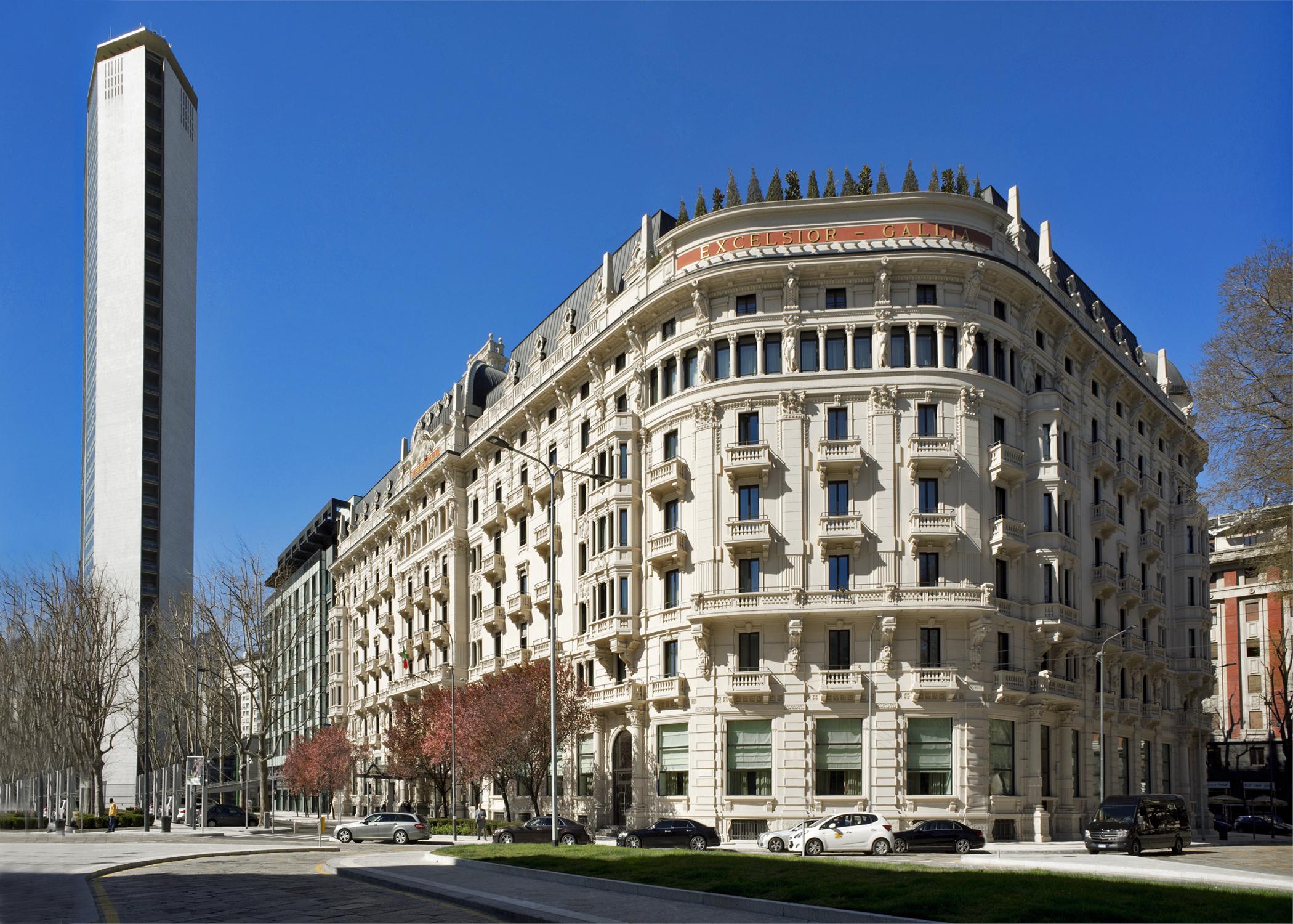 Hotel Gallia recovers its elegance.