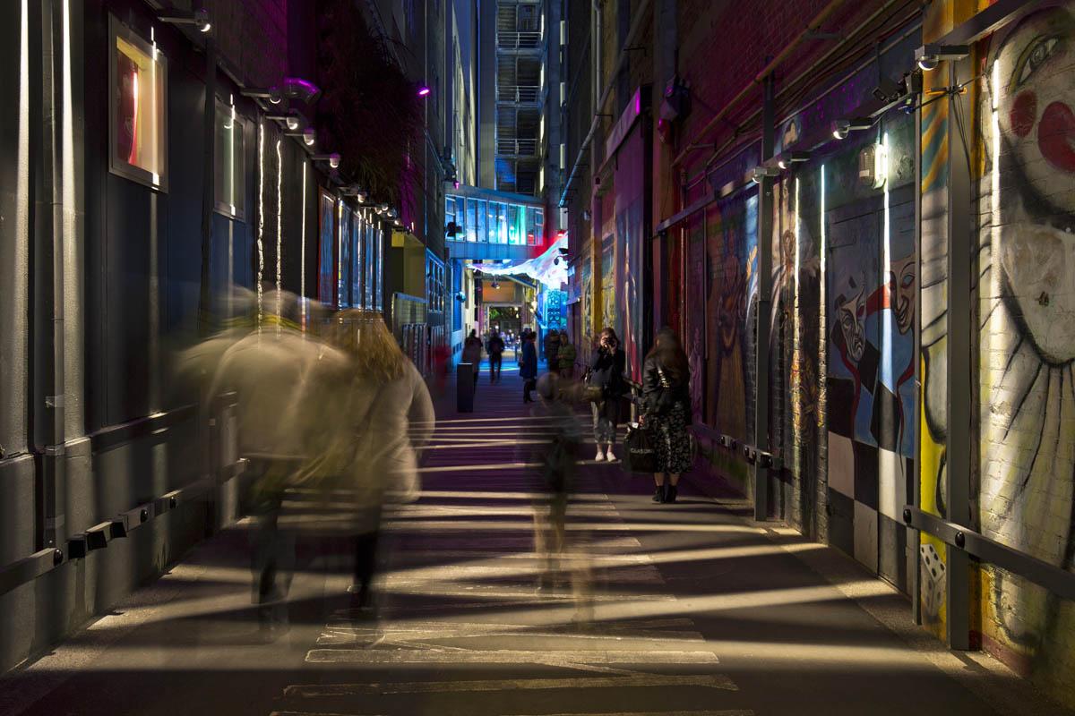 Lichtklinge für den Außenbereich