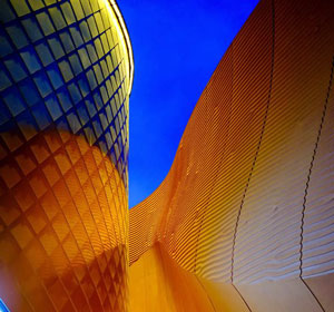 El pabellón de los Emiratos Árabes Unidos Expo Milano 2015