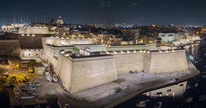 The new lighting for Vittoriosa