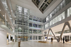 Lighting project for the regional headquarters of a major French bank