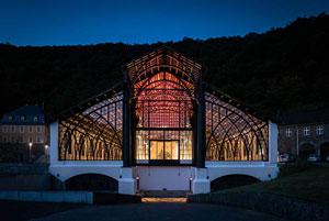 La fonderie Sayner Hutte : une cathédrale de fer